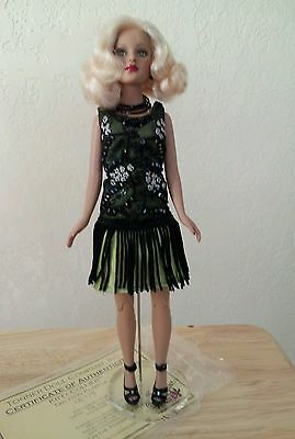 Tonner Doll Tiny Kitty Flapper Doll LE 175 Exclusively for UFDC July 2005