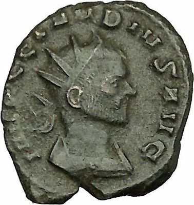 Claudius II Gothicus 268AD Ancient Roman Coin Forethought Goddess Cult  i39591