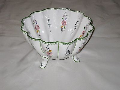 Fine Porcelain Center Table Bowl Hand Painted in PORTUGAL