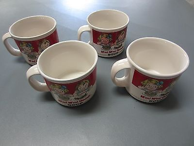 Campbell's Soup Kids Soup Mug Cups by Westwood Collectible 4set  3-1989 & 1-1993