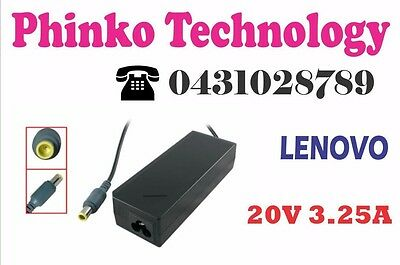 65W 20V 3.25A Power AC Adapter Supply Charger for Lenovo Thinkpad MINI10 Laptop