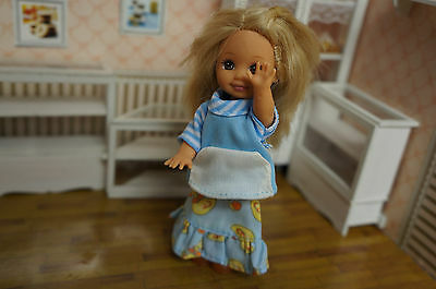 Lovely barbie dolls cloth Handmade Cosplay gown Clothes For Kelly Doll a1096