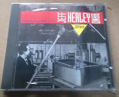 JEFF HEALEY - JITTERS - CD LIVE CHICAGAO & TORONTO 1987  NO CDr RARO SEALED MINT