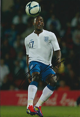 Marvin SORDELL Signed Autograph 12x8 Photo AFTAL COA England Football Bolton
