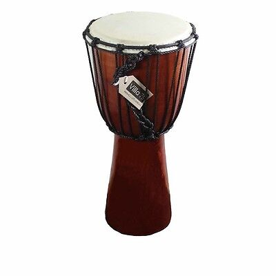 50cm Bongo / Djembre Drum, Goat Skin Hyde Mahogony Wood Great Value!!