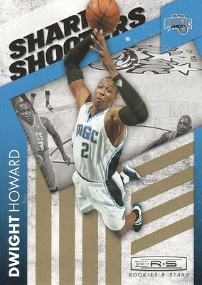 2010-11 Rookies and Stars Sharp Shooters Gold #1 Dwight Howard/499 - NM-MT