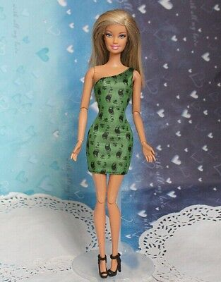 2014 Fashion Handmade outfit Gown Clothes dolls outfit For Barbie Doll a1522
