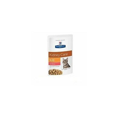 HILL S prescription diet k/d feline tender chunks gravy umido salmone 12bustx85g