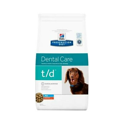 HILL S prescription diet  t/d dental health canine mini mangime secco kg. 3
