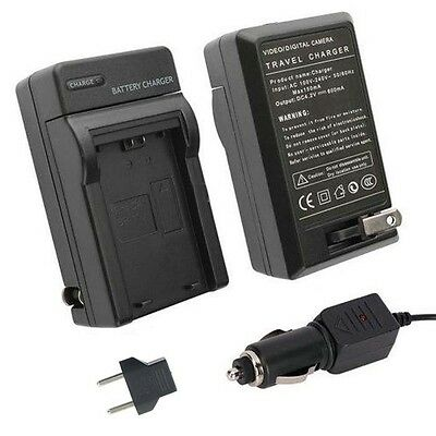 Dual Voltage AC/DC Rapid Charger for Canon BP511,BP511A, BP512A  Battery