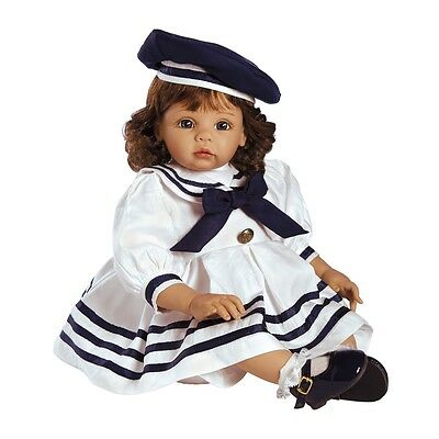 Picture Day, a Toddler Doll in Sailor Themed Outfit, 22 inch Caressalyn Vinyl