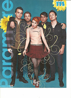 Paramore, David Henrie, Double Sided Full Page Pinup