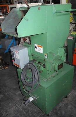 "Plastic Granulator - 5 HP Motor, Made by Cumberland - 8"" x 10"" New Blades!!"
