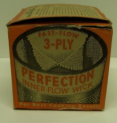 Perfection No. 331-X Stove Wick Kerosene Portable Heaters  Wick NOS
