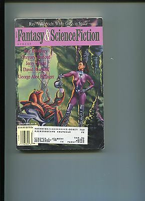 Ray Bradbury That Women On The Lawn Signed Autograph Fantasy Sci Magazine Story