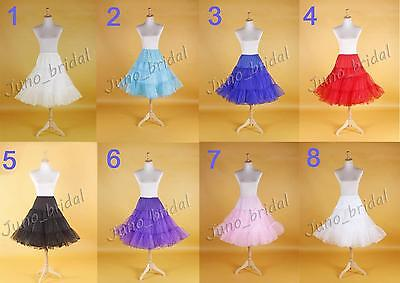 "26"" 50s Rock n Roll Retro Underskirt Ballet TuTu Swing Petticoat Wedding Slip"
