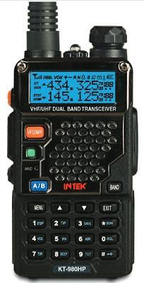 INTEK KT-980HP 2m 70cm UHF VHF 8 WATT High Power FM Dual Band Amateur Radio Tran