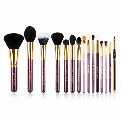 Makeup 8~15pcs Brushes Set Powder Foundation Eyeshadow Eyeliner Lip Brush Tool