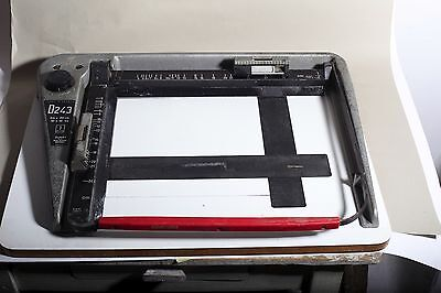 "heavy DURST D243 24X30CM, 4 corne 10X12"" ENLARGING, ENLARGER EASEL. great pieace"
