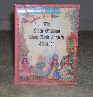 MARIE OSMOND STORY BOOK CASSETTE COLLECTION for her STORY BOOK DOLL SERIES