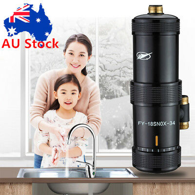 Tankless Electric Hot Water Heater System Bathroom Kitchen Under Sink Tap Faucet