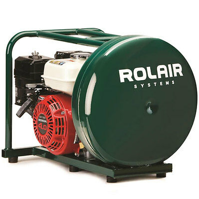 Rolair 4HP 4-1/2 Gal Gas-Powered Hand Carry Air Compressor GD4000PV5H New