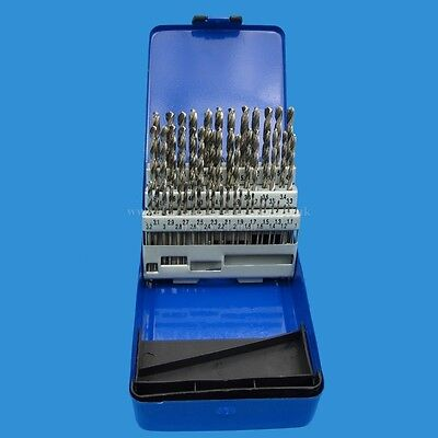 51 Piece Engineers HSS Drill Bit Set 1 to 6mm in 0.1mm Increments Toolzone DR041