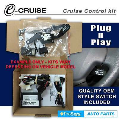 Cruise Control Kit Toyota Hiace Pet & Diesel 2006-ON (With Stalk control switch)