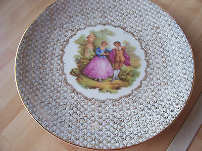 Limoges plate 24 cms. across.