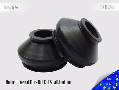2 X High Quality Rubber 15 30 23  Dust Cover and Ball Joint Boots
