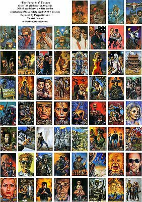 The Preacher Comic Covers-60 All Different A6 Artcards
