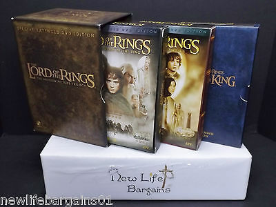 The Lord of The Rings Trilogy Special Extended DVD Edition Region 3