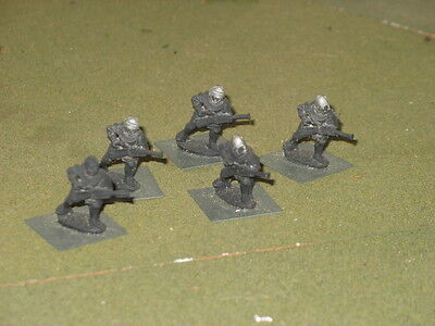 25mm primed metal Medieval Hand Gunners x5 (by Old Glory)