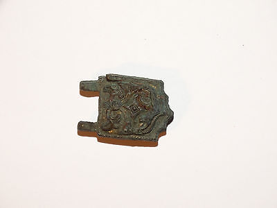 Gilded Viking belt plate decorations   .  ca 800-1000   AD