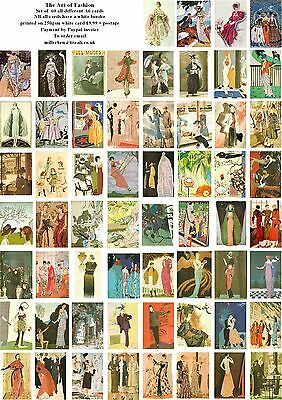 The Art Of Fashion 1900-1948 - 60 All Different A6 Art Cards