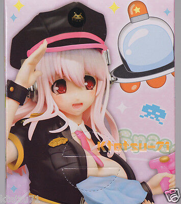Super Sonico Space Police Figure Black Ver. SONICO / TAITO *