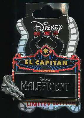 DSF GSF DSSH Maleficent Marquee LE 500 Disney Pin 100951