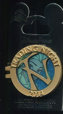 Disney Pin Trading Night 2014 Elsa Stained Glass LE 750 Disney Pin 100486