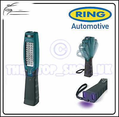Ring Multi-Positional Ultra Bright LED Inspection Lamp With UV light RIL3100