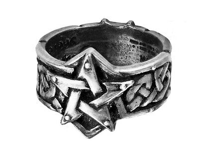 GENUINE Alchemy Gothic Ring - Celtic Theurgy | Men's Fashion Jewellery