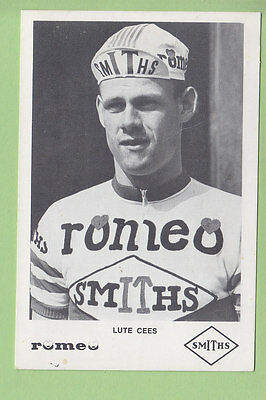 Cees LUTE . Cyclisme. Romeo Smiths