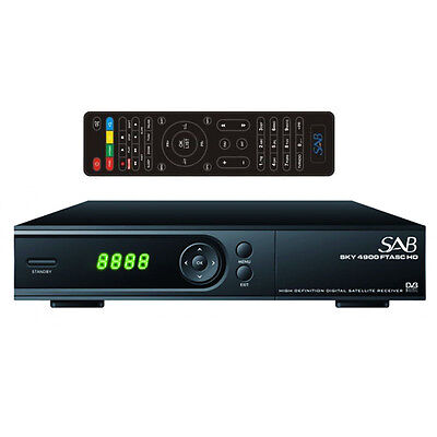 SAB 4900 CA Full HD 1080p SAT Receiver USB PVR YouTube LAN Kartenleser HDTV #