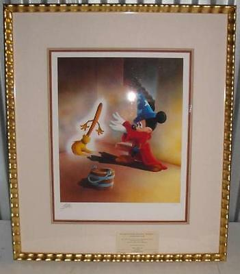 Disney Dooma Dooma Brooma Brooma Limited Edition Giclee signed by Francese Mateu