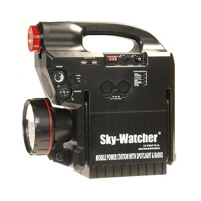 Sky-Watcher 17Ah Rechargeable Power Tank for Astronomy Telescopes 12v
