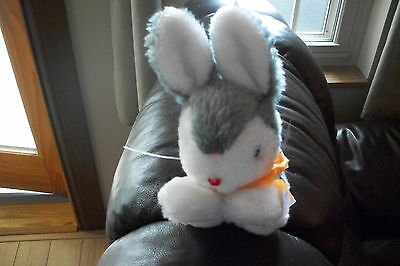 Russ Berrie Bunny Rabbit Plush Ribbi #126 6""