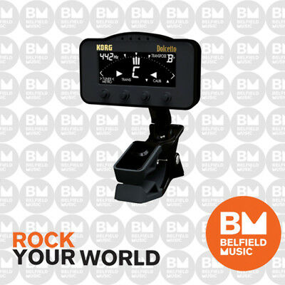 Korg AW3M Dolcetto Clip-On Chromatic Tuner Metronome Orchestral Instruments - BM