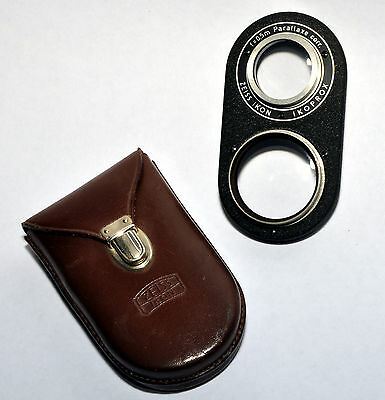 Zeiss Ikon Ikoprox TLR Parallaxe Corr.- f=0.5m- with leather Case