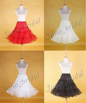 Rockabilly 50s Rock n Roll Retro Underskirt Ballet TuTu Swing Wedding Petticoat