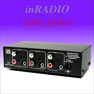 LDG ALK-2 - Audio Linear Key Switch -  FAST AND FREE DELIVERY