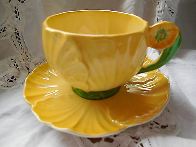 1930'S Carlton Ware Butter Cup Pattern Cup & Saucer